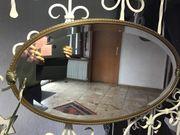 Ovaler Spiegel circa 90x50