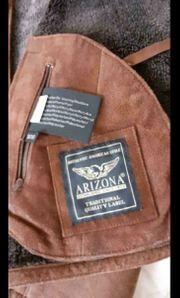 Arizona Echtleder Jacke mit Schal