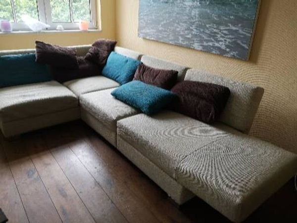 Verstellbares Sofa abzugeben