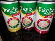 3 x Yokebe ungeöffnet