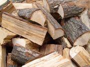 Holz Brennholz Kaminholz Eiche ofenfertig