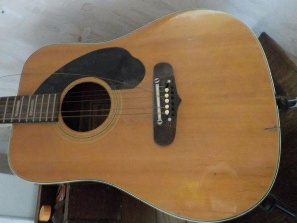 Gitarre Ibanez Westerngitarre aus den