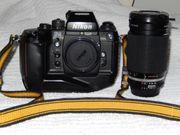 Nikon F4 mit Nikkor 35 -