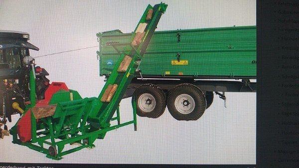 Traktor mit 18 tonnen holzspalter