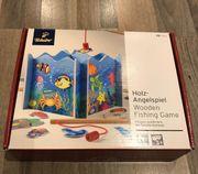 Holz-Angelspiel von Tschibo Lernspiel Magnet