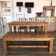 Gartenbank Outdoorbench Holzbank Terrasse recycelt
