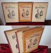 Antik Buch Band Kostüme Geschichte
