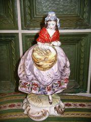 2 Keramik Figuren aus Italien