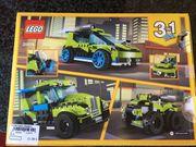 LEGO Creator 3 in 1 - Raketen-Rallyeflitzer