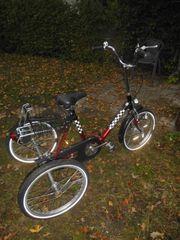 Fahrrad Trike grosses Dreirad