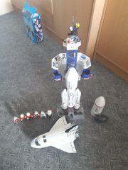 Playmobil Weltraumrakete und Shuttle