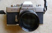 Minolta SRT 101 Spiegelreflexkamera 24x36