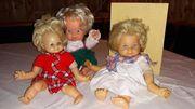 Puppen alt und bespielt