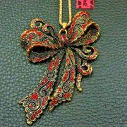 Betsey Johnson Halskette Brosche große