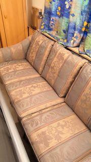 Sitzgarnitur Sofa und Sessel