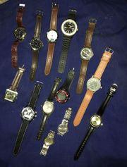 Herrenarmbanduhren Verschiedene Marken