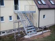 Aussentreppe Innentreppen Stahlkonstruktion