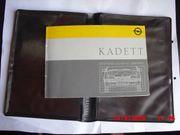 Opel Kadett E Bedienungsanleitung
