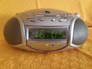 UHREN-RADIO-WECKER mit CD-PLAYER LAZER - Model