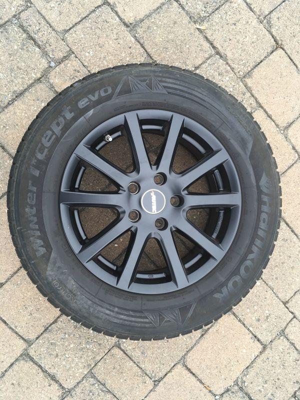 Winterkompletträder Autec 215 65R16 schwarz