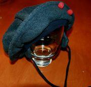 Warme Fleece-Mütze - Size ca 44 cm -