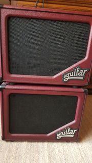 Verkaufe 2x Aguilar Boxen SL112