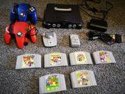 Nintendo 64 Grau Spielekonsole