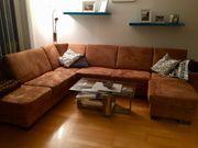 Schöne große Couch
