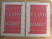 Plakat Flohmarkt für Kundenstopper