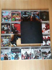 PS3 160GB Kontroller Spiele
