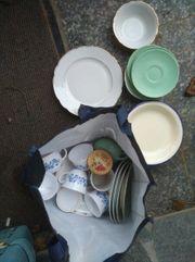 Polter Geschirr zu verschenken