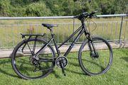 Cube Cross Fahrrad black anodized