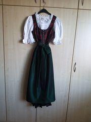 Dirndl 3tlg Salzburger Dirndl-Look Trachtenecht