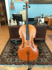 Original Cello mit Etikett von