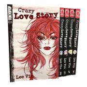 Crazy Love Story 1-5 Manga