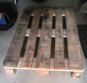 Holzflachpalette Europalette in gutem Zustand
