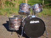 DDRUM Vintage-Schlagzeug komplett 22 10