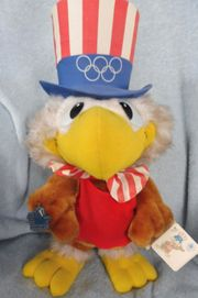 Original-Maskottchen Sam the Eagle der