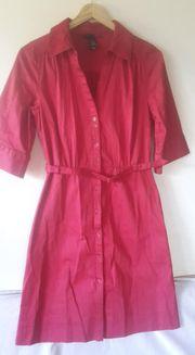 schönes Kleid rot H M