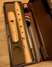 Flöte Moeck 222 TUJU-Deutsch