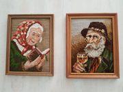 Bilder Bauer und Bäuerin