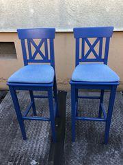 2 Hochstühle Barhocker Stühle