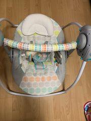 Ingenuity Babyschaukel Whimscal Wild bunt
