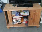 Fernsehtisch helles Holz