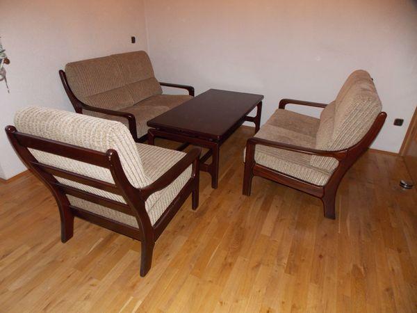 Couch Sofagarnitur Danish Modern Design