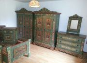 Voglauer Schlafzimmer komplett mit dazugehöriger
