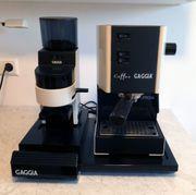 Coffee-Gaggia Espressomaschine mit Mühle und