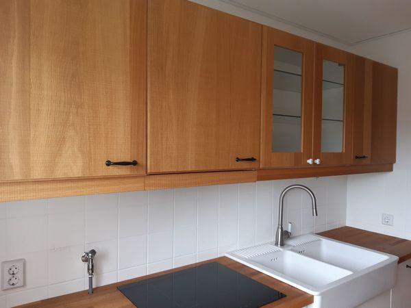 Küche mit Echtholz Eichenfunier
