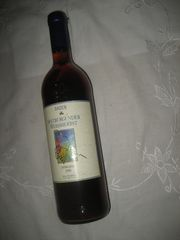 Flasche Wein Spätburgunder Weissherbst von