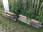 Holzpflöcke
